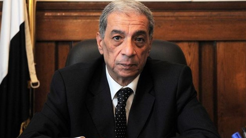 النائب العام المصري السابق هشام بركات