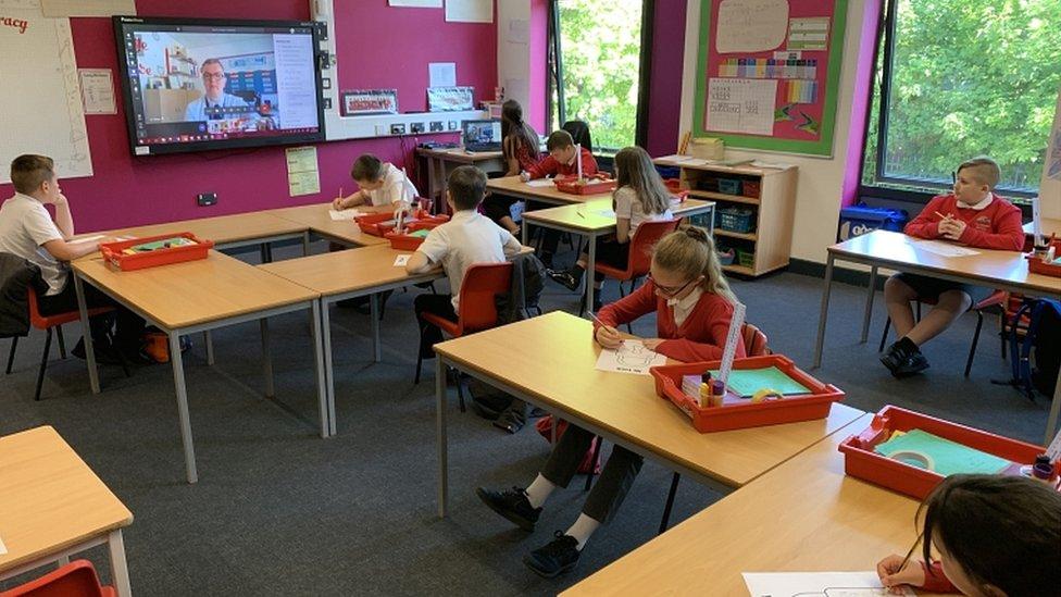 Class in Tamworth