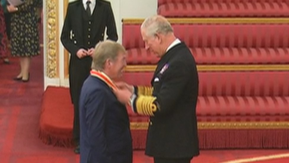 Liverpool and Scotland's Kenny Dalglish receives knighthood