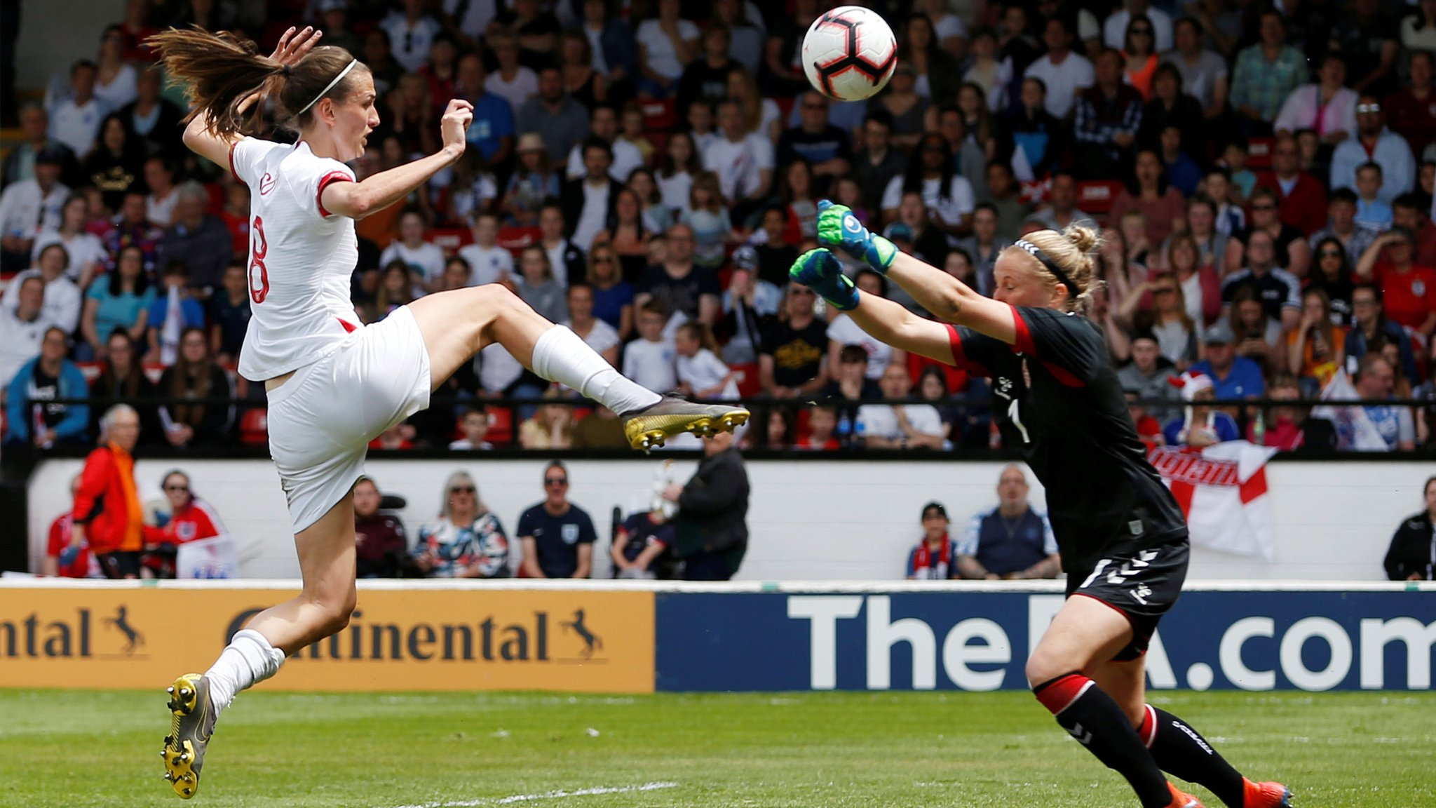 Marines training contributed to 'messy' England women win - Neville
