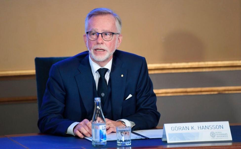 Göran Hansson, secretario general de la Real Academia Sueca de Ciencias