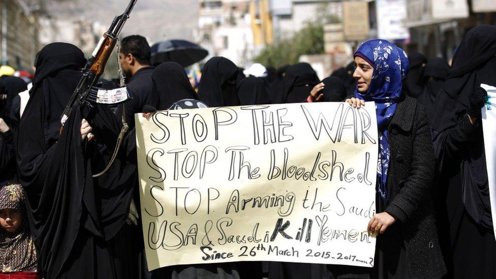 Protesto no Iêmen