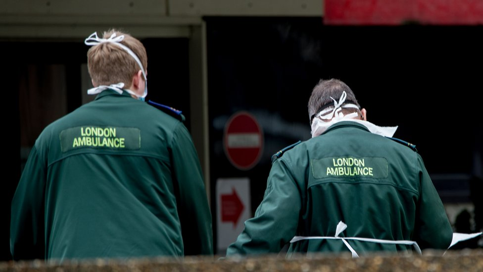 London Ambulance Service paramedics