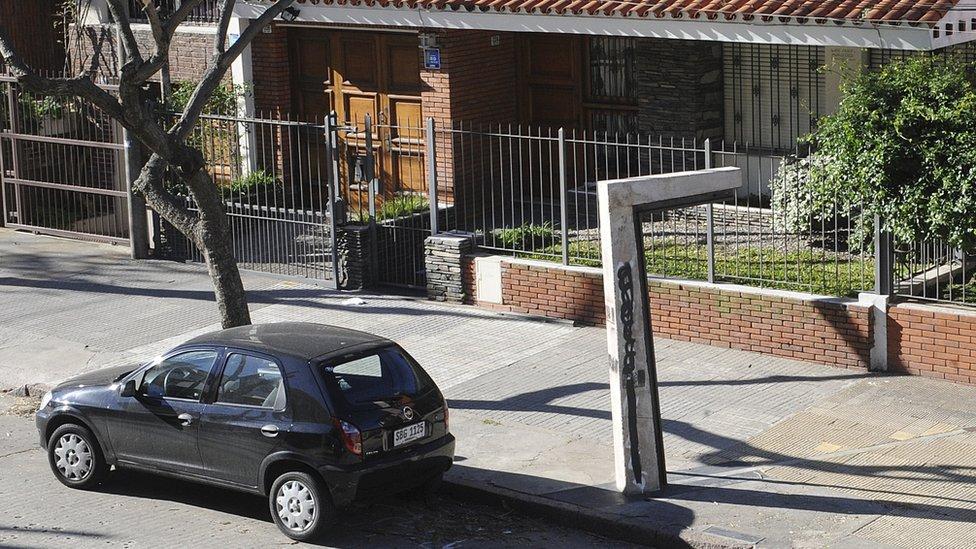 En esta casa ubicada el barrio de Pocitos se marcó el primer gol de la historias de los mundiales en 1930.