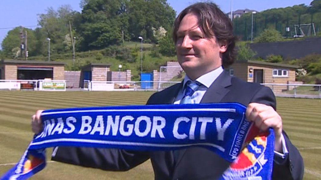 Bangor City: Citizens appoint Craig Harrison as new manager