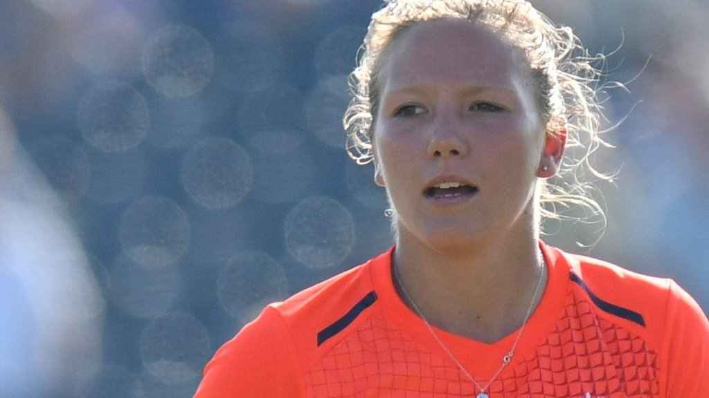Katie George: England seamer suffers third back stress fracture