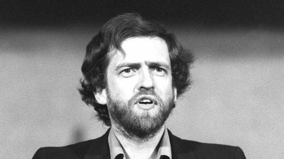 Jeremy Corbyn en 1984