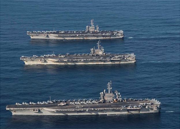 """馬蒂斯說,""""我們(美國)的軍力仍然很強大,然而我們的競爭優勢在武裝力量的各個層面已經受到侵蝕。"""""""