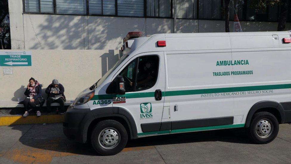 Ambulancia en CDMX