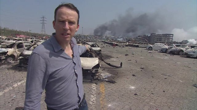 John Sudworth reports from Tianjin
