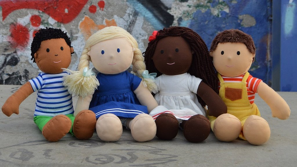 The racially diverse dolls that 'look like me'