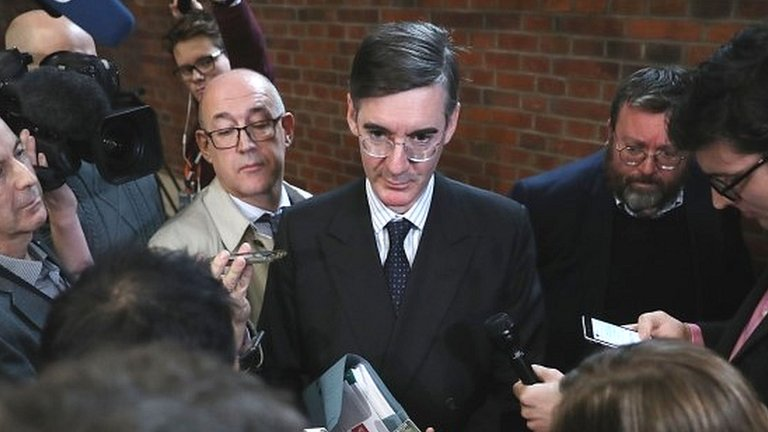 Ditch May now or she will lead us into 2022 election, Rees-Mogg tells Tories