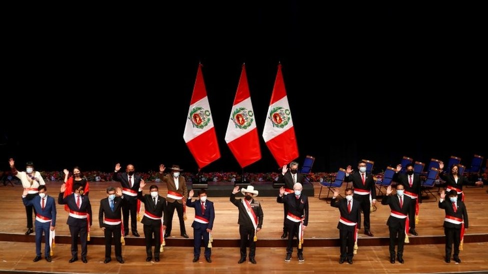 Gabinete de ministros de Pedro Castillo