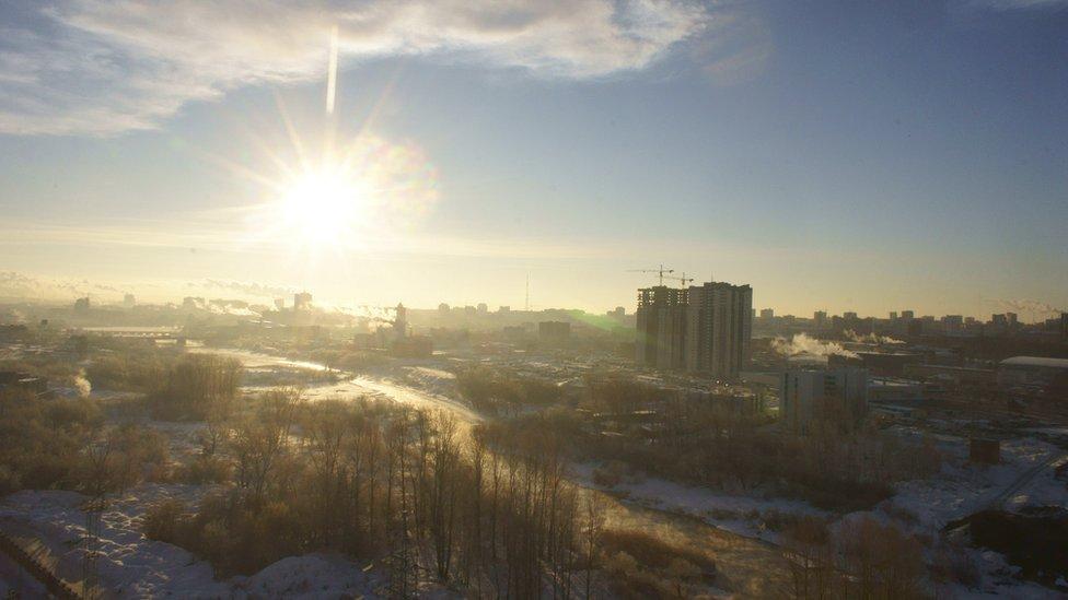 Un meteorito golpeó Cheliábinsk, Rusia, en 2013.