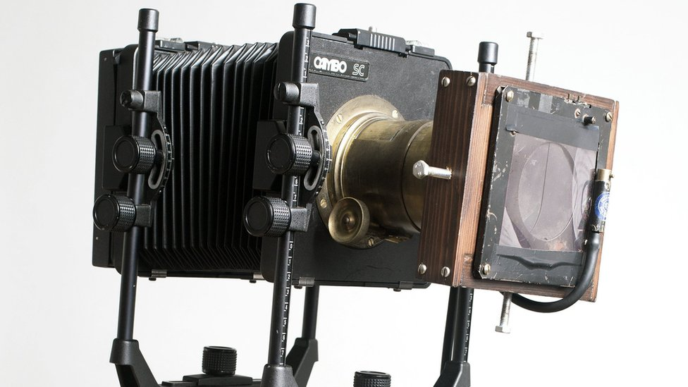 Camera used for Matthew Broadhead's project