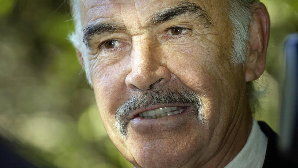 Sean Connery en 2004.