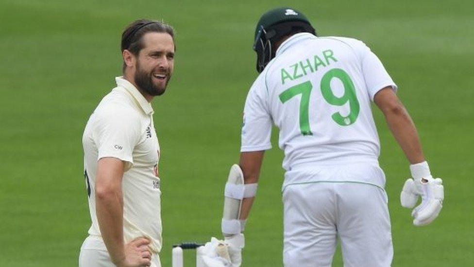 پاکستان، انگلینڈ، اظہر ووکس