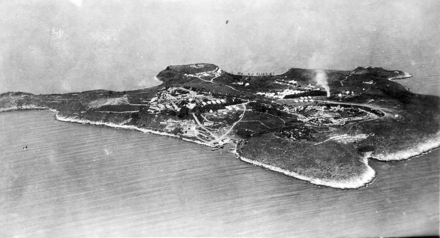 Logori srpske vojske na ostrvu Vido