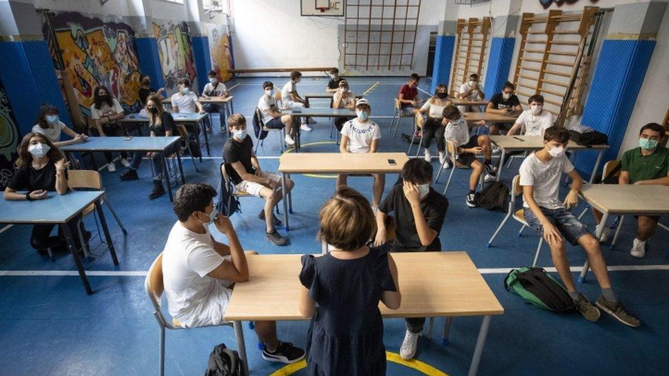 italyada bir okul