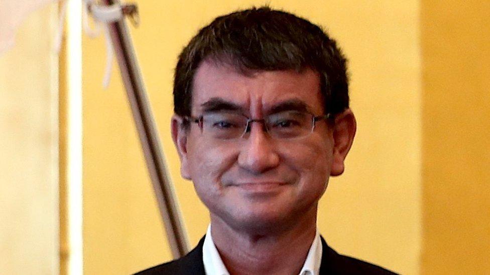 日本防務大臣河野太郎