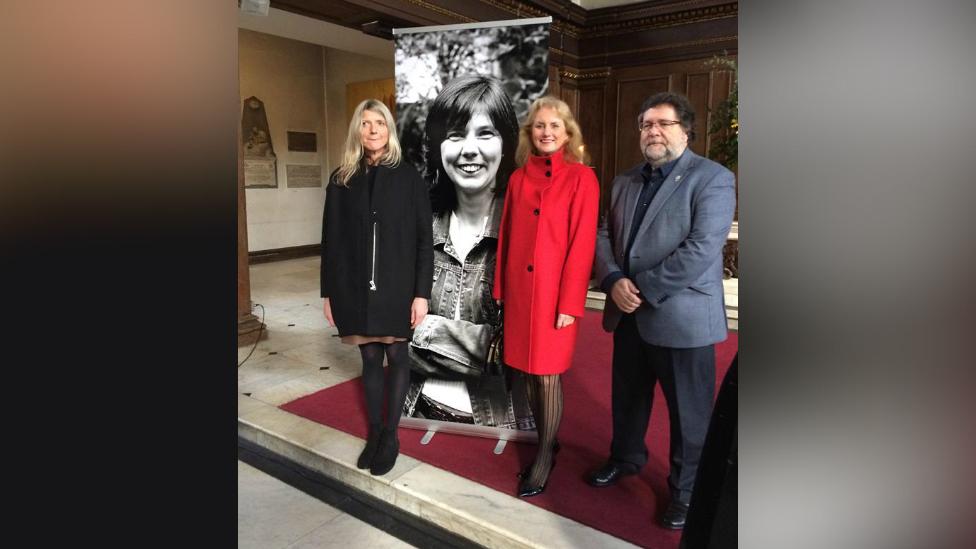 Helen Bailey's memorial service