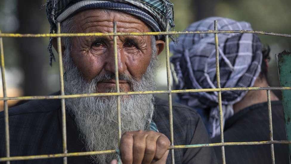 Refugee in Kabul