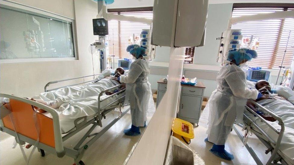 Hospital en Sudáfrica