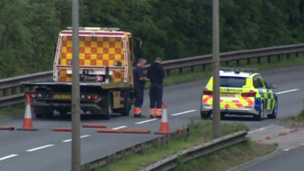 Man arrested after fatal Cardiff dual-carriageway crash