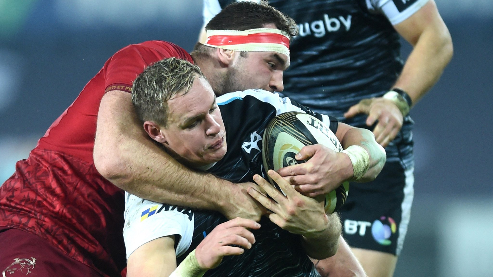 Pro14: Ospreys 13-19 Munster - Late Haley try seals win for visitors