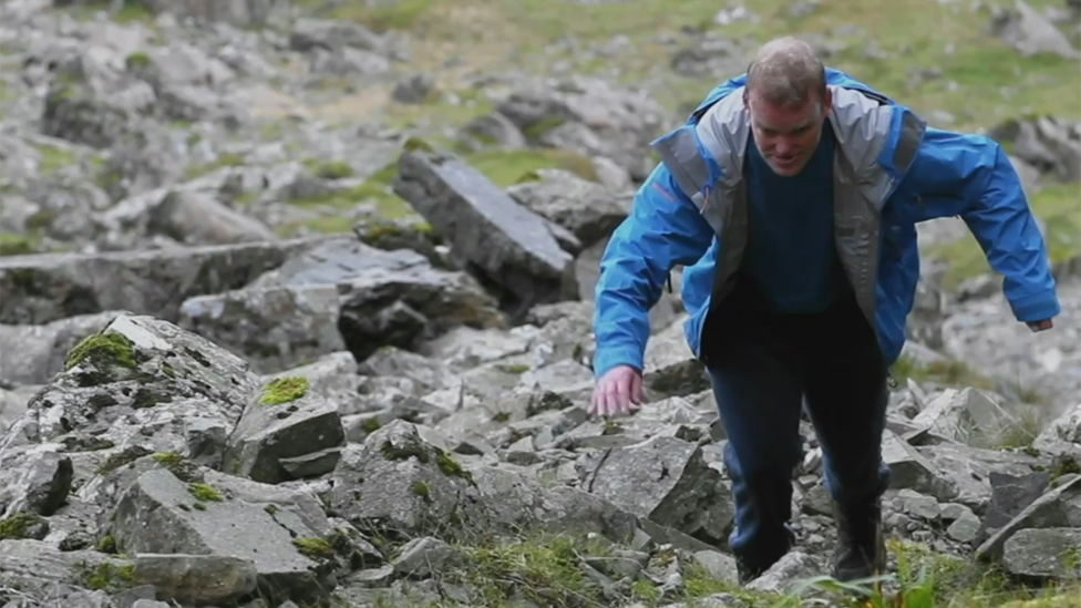 Anglesey autistic man conquers mountains