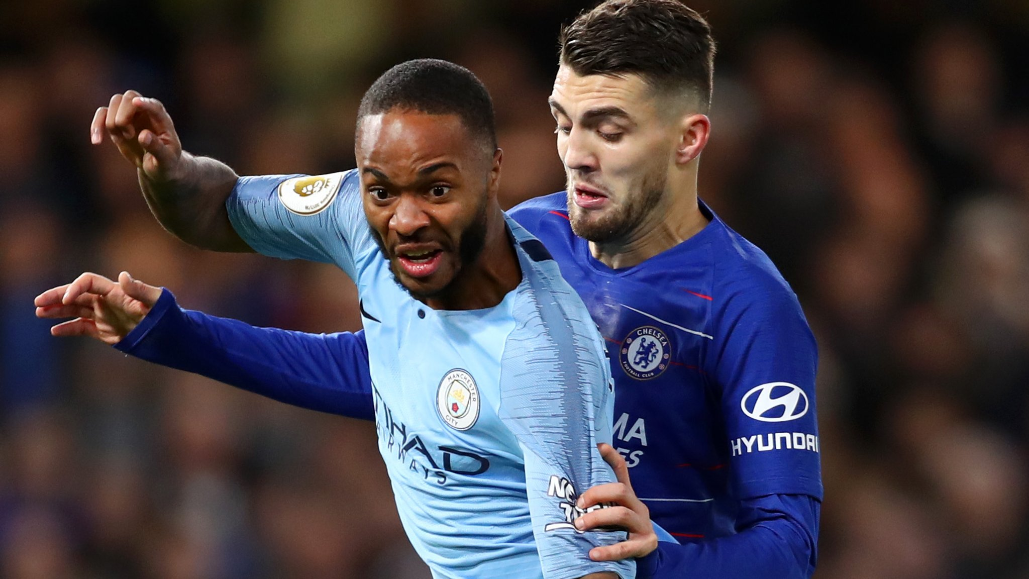 Raheem Sterling: Chelsea fans suspended for alleged abuse of Man City forward