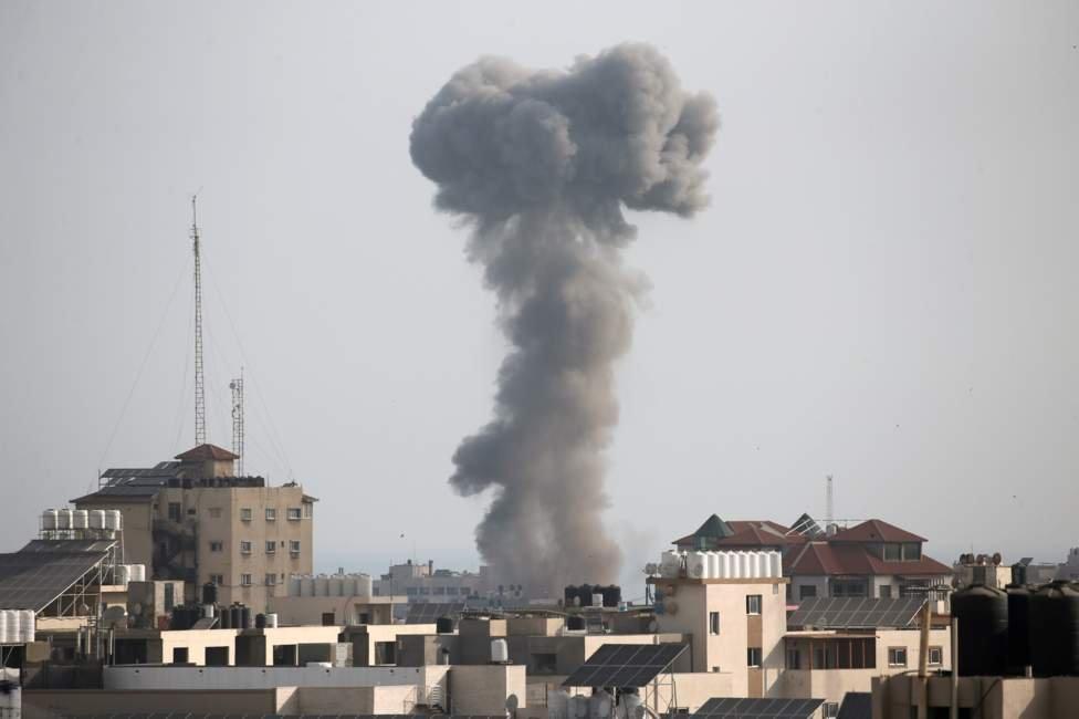 serangan Israel di Gaza