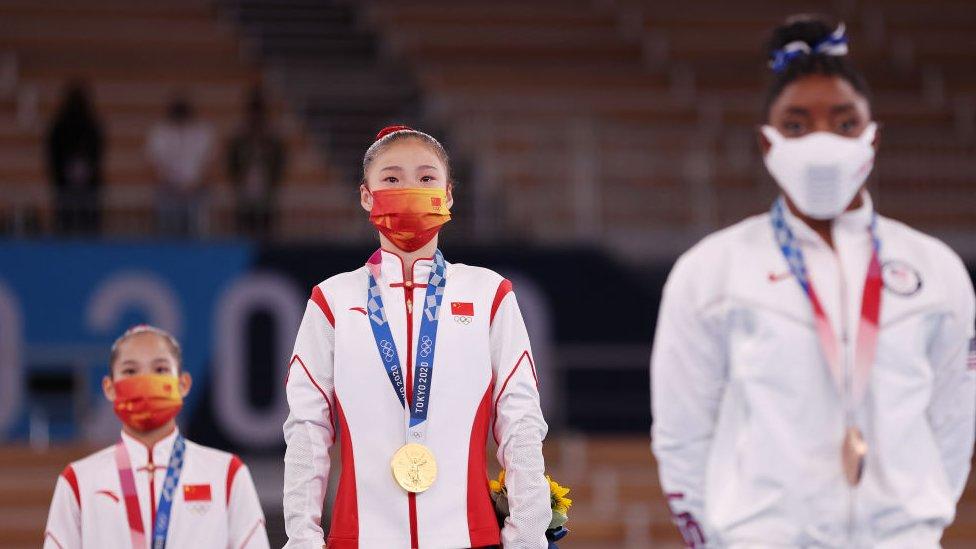 國際奧委會以金牌總數作排名。