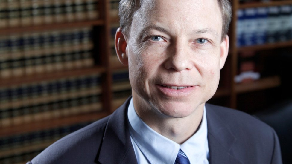 This June 27, 2011, photo shows Santa Clara County Superior Court Judge Aaron Persky, who drew criticism for sentencing former Stanford University swimmer Brock Turner to only six months in jail for sexually assaulting an unconscious woman.