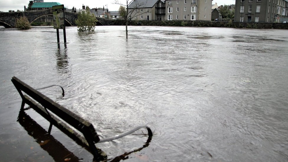 Storm Callum: Flood defence review after Wales battered