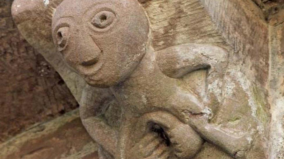 Sheela-na-gigs: The naked women adorning Britain's churches