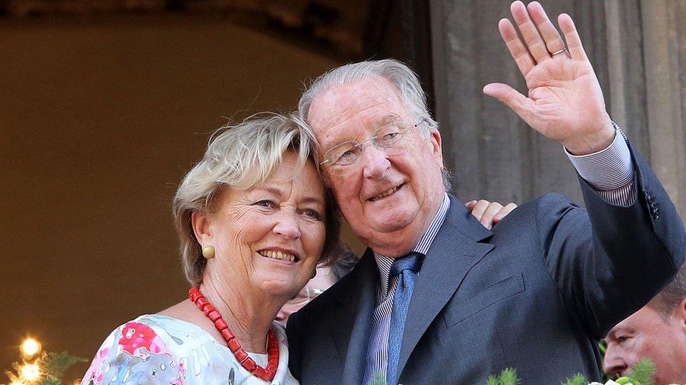 Paola de Bélgica y Alberto II