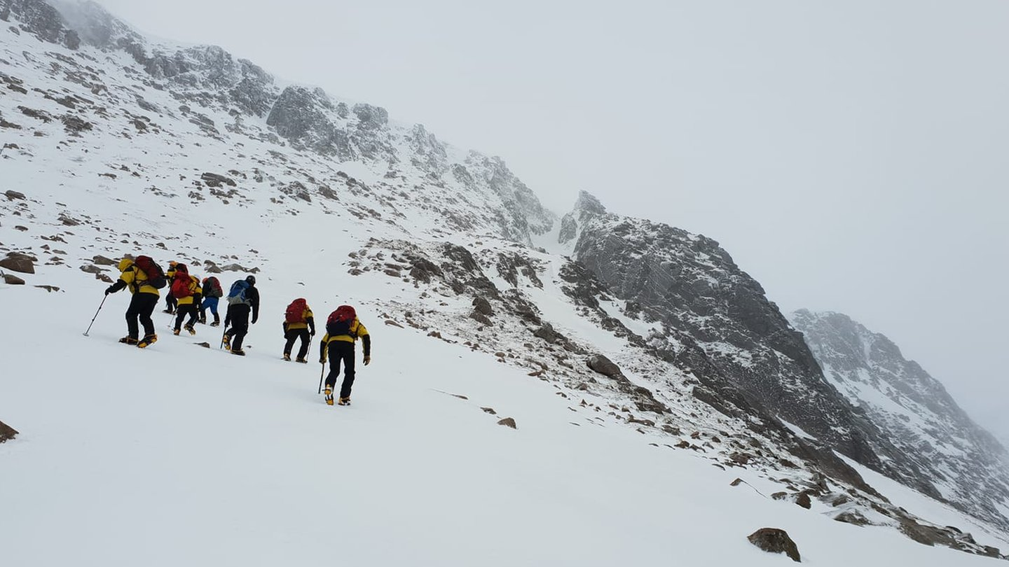 Climbers rescued in 'ferocious weather' in Cairngorms