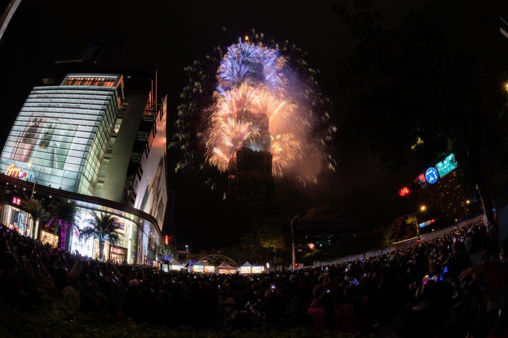 Fireworks in Taiwan
