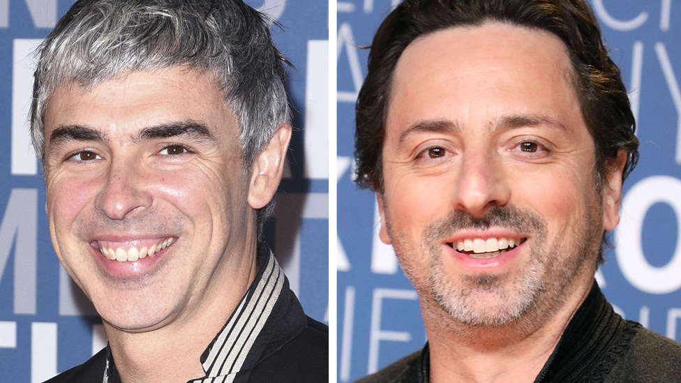 Google founders Larry Page and Sergey Brin step back from ...