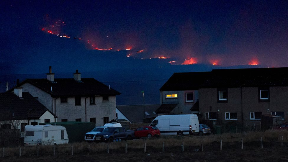Sutherland residents return home after wildfire