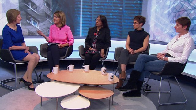 Victoria Derbyshire hosts a discussion on menopause treatment options