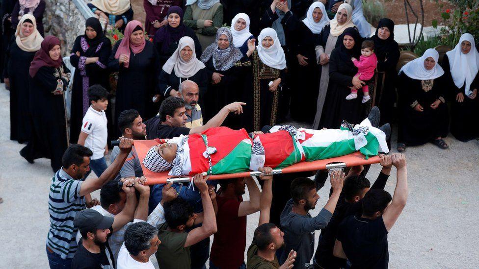 جنازة محمد حمايل
