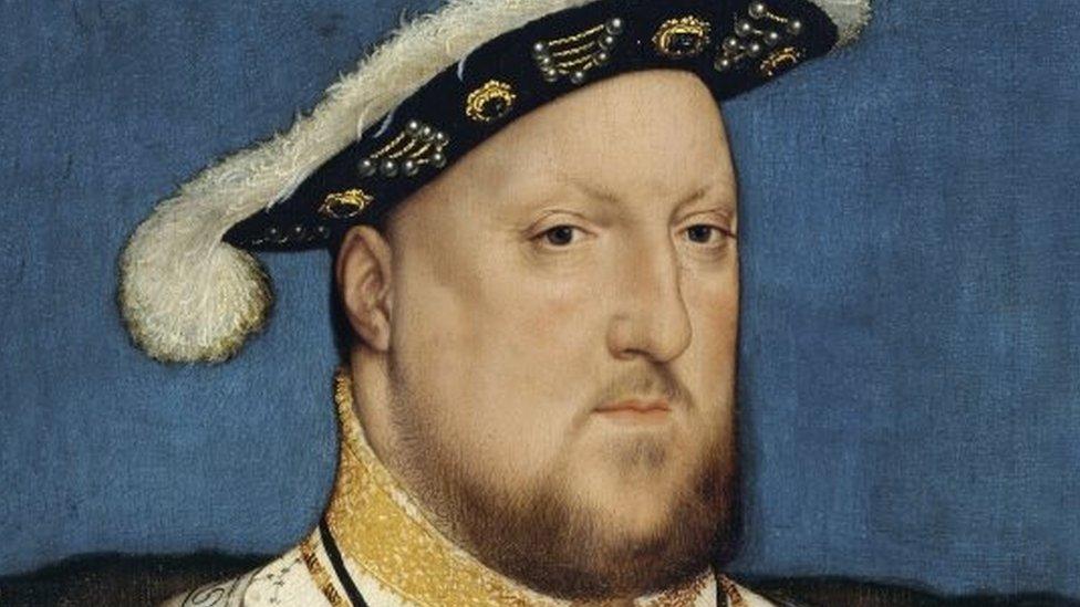 'Portrait of Henry VIII' by Hans Holbein the Younger