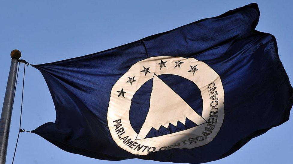 Bandera del Parlamento Centroamericano