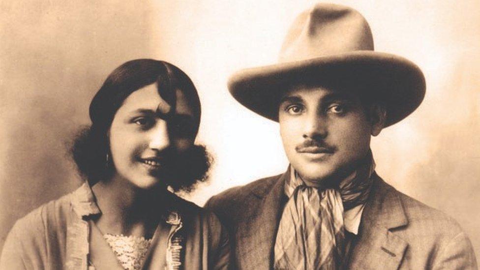 Rosa y Joseph Bouglione