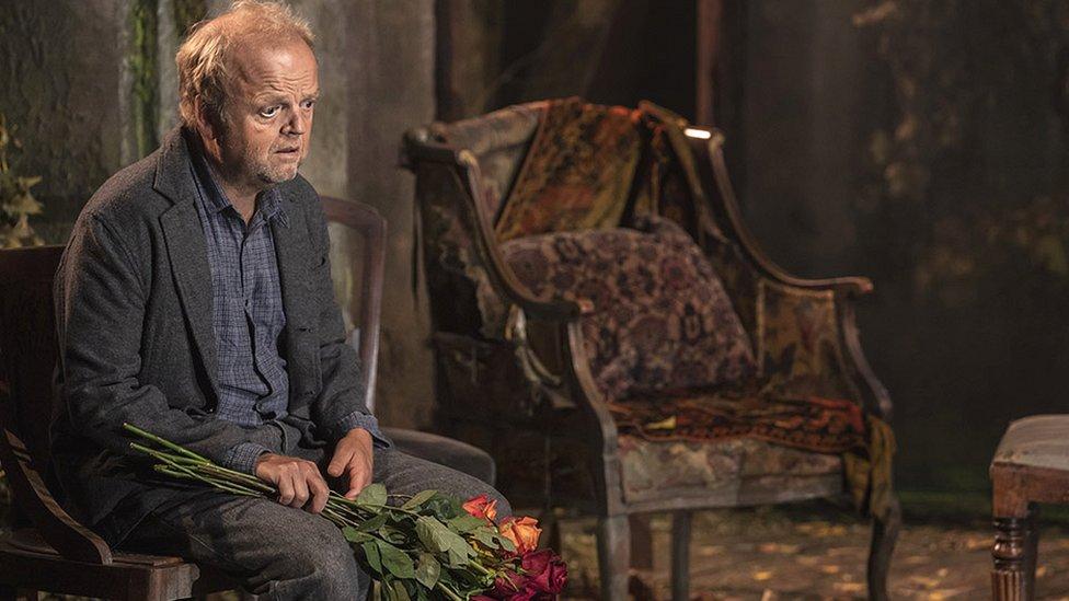 Toby Jones plays Uncle Vanya