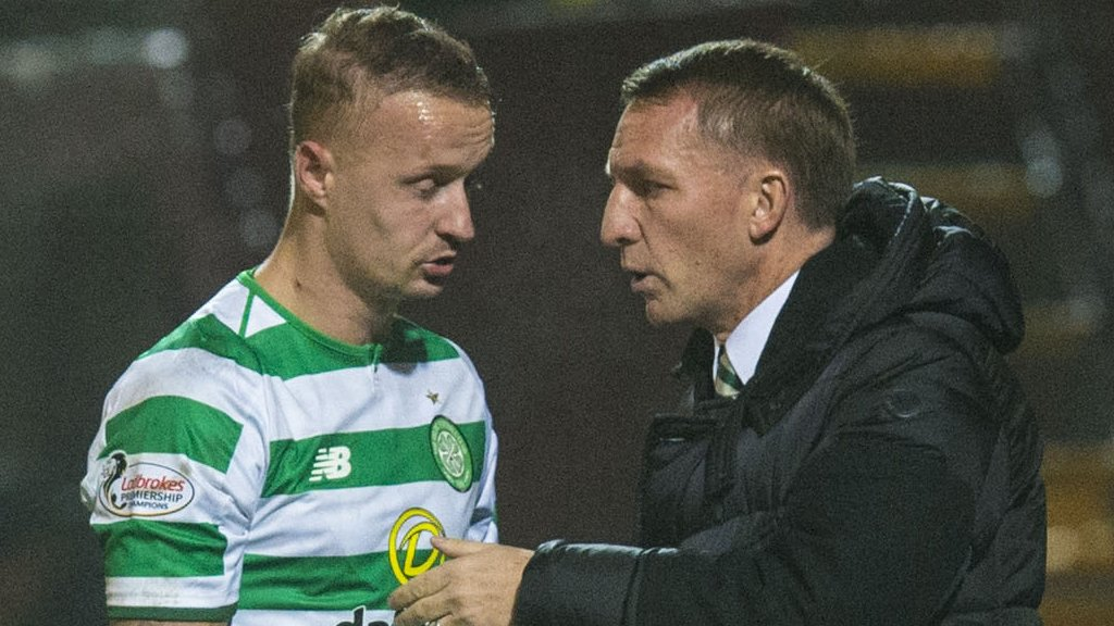 Celtic's Griffiths faces spell out to seek help for 'ongoing issues'
