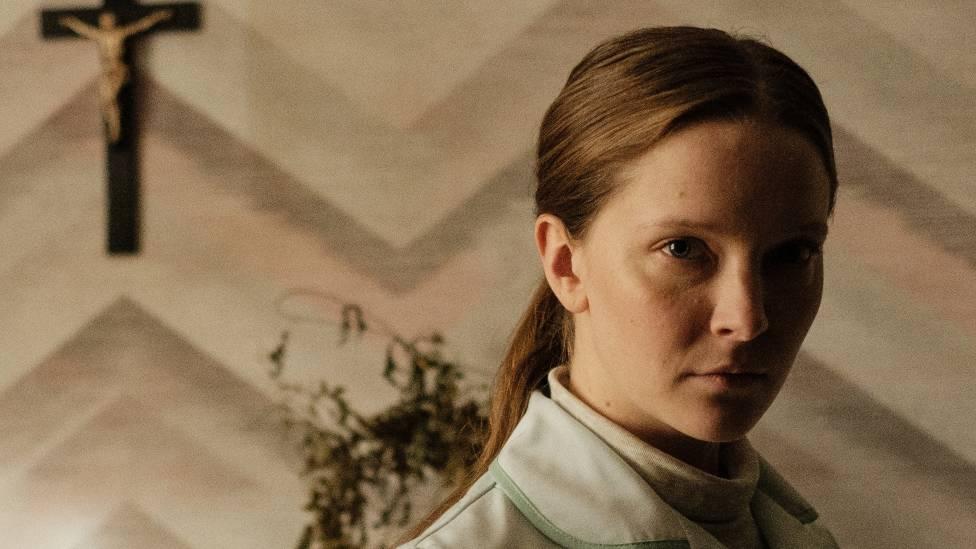 Morfydd Clark stars in the psychological horror film, Saint Maud