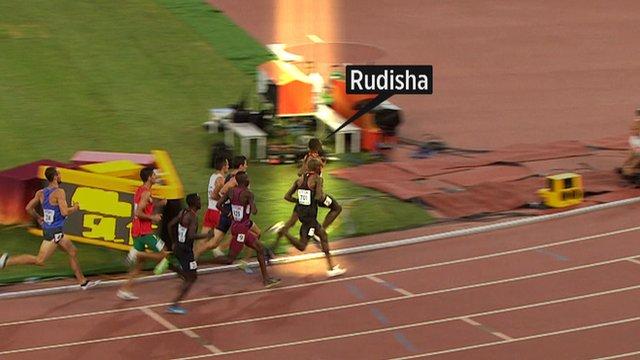 Olympic champion David Rudisha